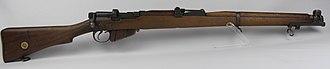 British military rifles - Lee-Enfield rifle
