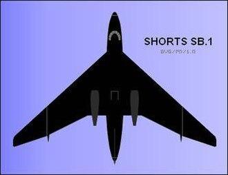 Short SB.1 - Plan view of SB.1