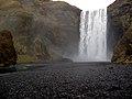 Showering at Skogasfoss (3043169439).jpg