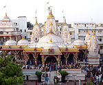 The world's first Swaminarayan Temple was built in Ahmedabad by the instructions of Bhagwan Swaminarayan.