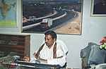 Shri K.H. Muniappa takes over the charge of Minister of State for Road Transport and Highways in New Delhi on May 24, 2004.jpg