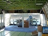Shuttle Carrier Aircraft passenger section