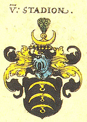 Christoph von Stadion - Coat of arms of the noble family of Stadion