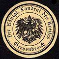 Siegelmarke Der Königliche Landrat des Kreises Grevenbroich W0227906.jpg