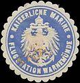 Siegelmarke K. Marine Flugstation Warnemünde W0337643.jpg
