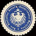 Siegelmarke Kaiserlich Deutsches General - Gouvernement Warschau W0213325.jpg