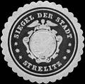 Siegelmarke Siegel der Stadt - Strelitz W0218048.jpg