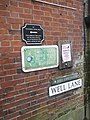 Signs in Well Lane - geograph.org.uk - 1101183.jpg