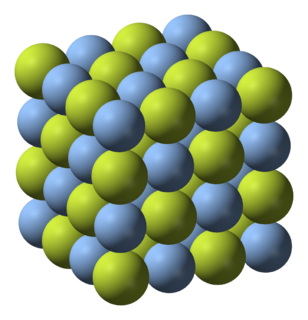Silver(I) fluoride chemical compound