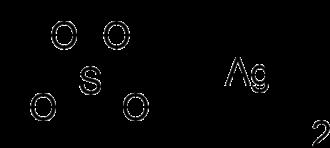 Silver sulfate - Image: Silver sulfate