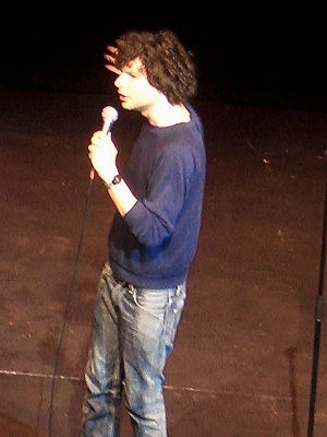 Simon Amstell - Simon Amstell at One Big Laugh, Bloomsbury Theatre, 2006.