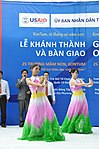 Singers and dancers perform at a kindergarten hand-over ceremony in Kon Tum. (5839486601).jpg