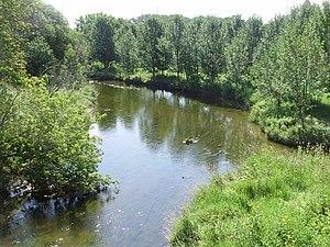 Sixteen Mile Creek (Halton Region) - Sixteen Mile at Milton, Ontario