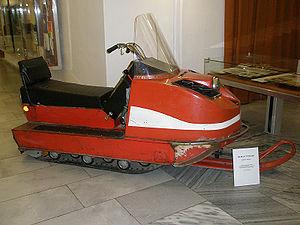 UEC Saturn - Buran snowmobile