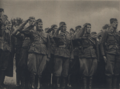Slovak soldiers listening to the national anthem in Ukraine.png