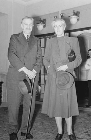 Georges Vanier - Georges and Pauline Vanier in 1940