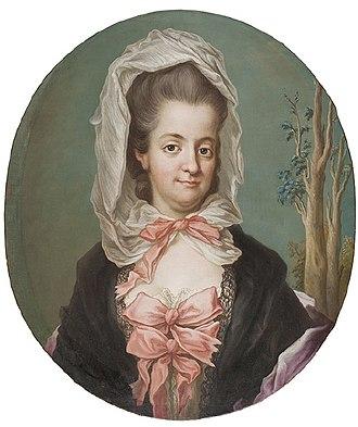 Gustav Badin - Princess Sophia Albertina of Sweden.