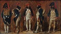 Soldats de la Première République Auguste Raffet.jpg