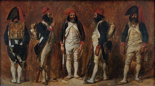 Soldats de la Première République Auguste Raffet
