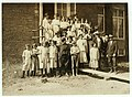 Some of the workers in the Pickett Cotton Mill, High Point, N.C., but I could not get the smallest ones into the picture. LOC nclc.02691.jpg
