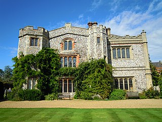 Mannington Hall Grade I listed architectural structure in North Norfolk, United Kingdom