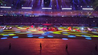 2015 Southeast Asian Games - Cultural presentation of Malaysia, host of the 2017 edition
