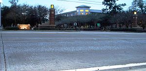 Southeastern Louisiana's main entrance is conn...