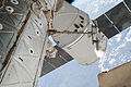 SpaceX CRS-3 berthed to ISS Harmony module (20140422).jpg
