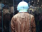 Space suits in Memorial Museum of Cosmonautics, Moscow, Russia, 2016 04.jpg