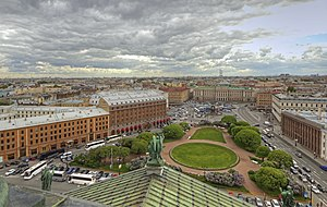 Saint Isaac's Square - View from St. Isaac's Cathedral on Mariinsky Palace, 21st century