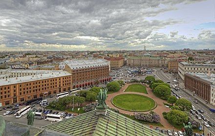 View from the Colonnade, St. Isaac's Cathedral, Saint Petersburg Spb Views from Isaac Cathedral May2012 09.jpg