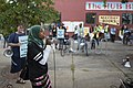 Speaker at a rally against Islamophobia (29748465605).jpg