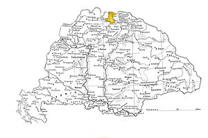 Treaty of Ófalu - Hungarian mortgages to Poland (yellow)