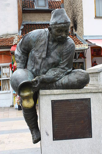 Hitar Petar - Monument of Itar Pejo in old town of Prilep