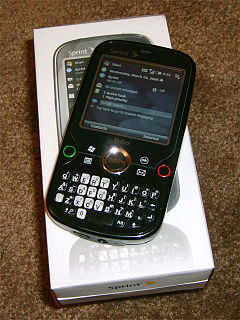 Palm Treo Pro 2009 Windows Mobile–based smartphone by Palm