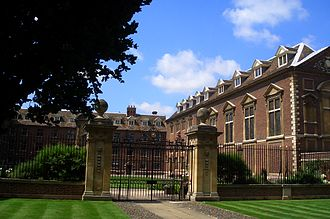St Catharine's College, Cambridge - St Catharine's, as seen from Trumpington Street