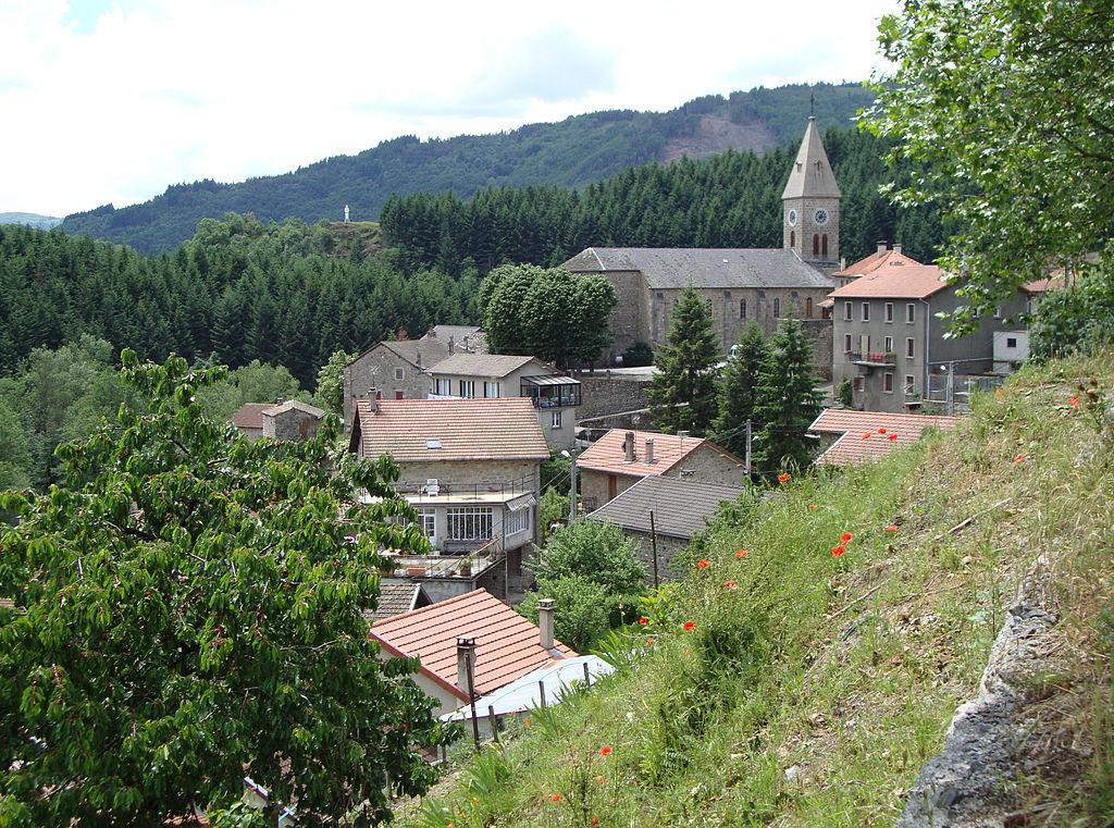 St.Julien-Boutières, vue du village