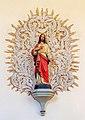 St. Andreas - Neudingen - Statue of the Sacred Heart.jpg