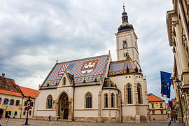 St. Mark's Church, Zagreb (16054174011)