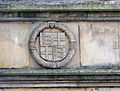 St Andrews - King James Library - coats of arms on the facade 05.JPG