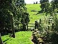 St Briavels - Stile on Slade Bottom footpath - geograph.org.uk - 520167.jpg