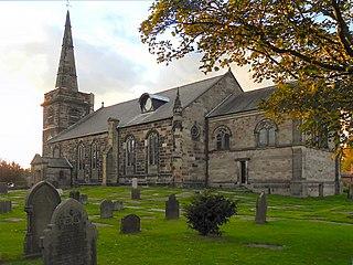 St Cuthberts Church, Churchtown Church in Merseyside, England