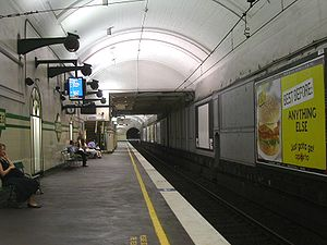 St James railway station, Sydney - Platform 1