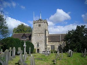 Warnham - Image: St Margaret's Church, Warnham in 2007