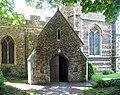 St Martin's Church, Herne, Kent - Porch - geograph.org.uk - 857961.jpg