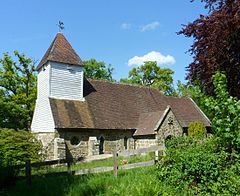 St Martin of Tours' Church, Ashurst Road, Ashurst.JPG