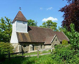 Ashurst, Kent - Image: St Martin of Tours' Church, Ashurst Road, Ashurst
