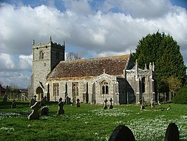 St Mary's Church, Long Crichel, Dorset - geograph.org.uk - 93764.jpg