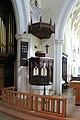 St Mary, Welwyn, Herts - Pulpit - geograph.org.uk - 377645.jpg