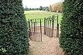 St Michael, Ryston, Norfolk - Churchyard gate - geograph.org.uk - 1501454.jpg